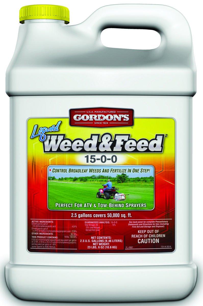 Weed & Feed Liq Conc2.5g