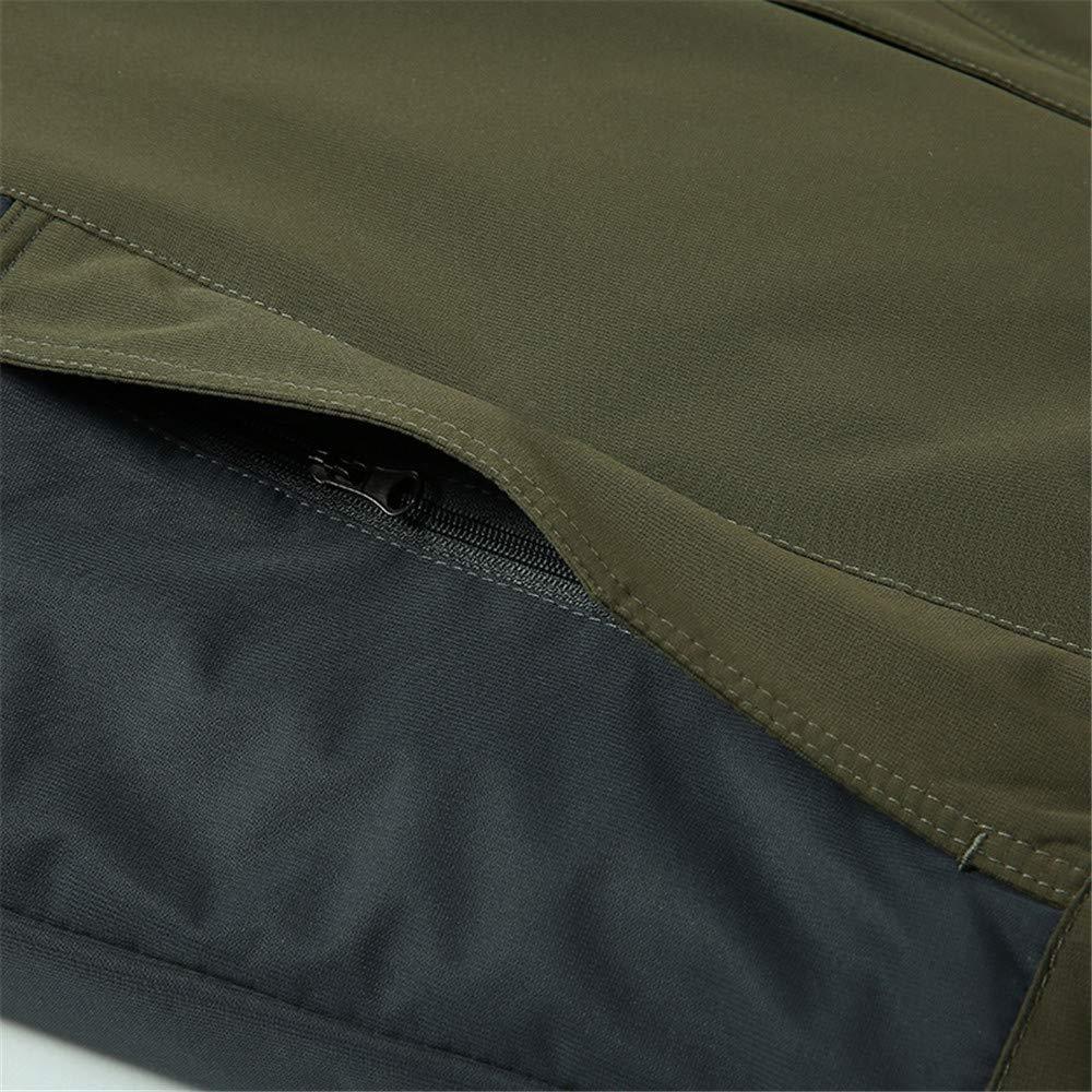 DBolomm Mens Ski Jacket Winter Windbreaker Coat Fleece Inner for Hooded Breathable Outdoor Outwear