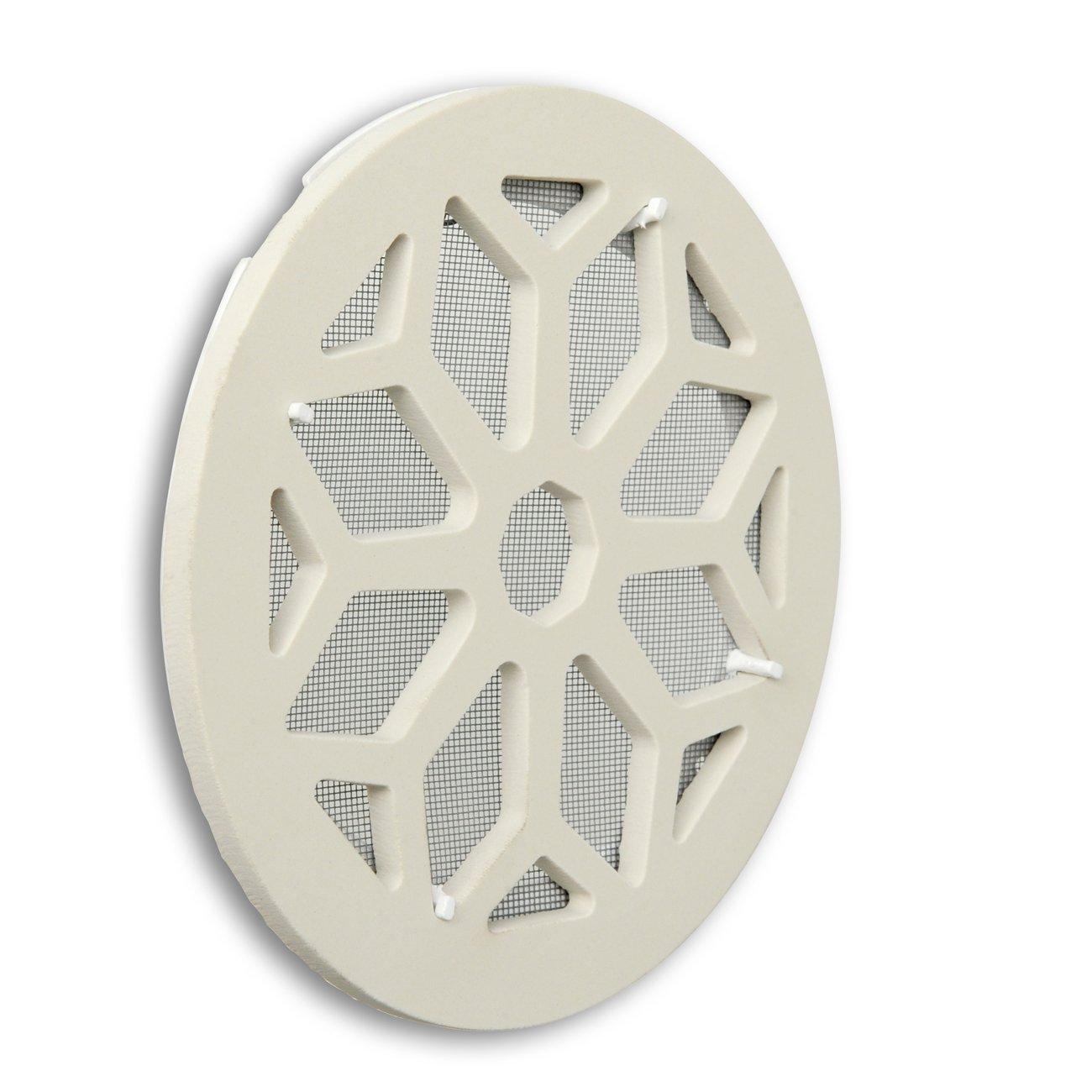 La ventilation cergrsbix Grille de ventilation en cé ramique grè s, blanc, diamè tre 200 mm diamètre 200mm La Ventilazione