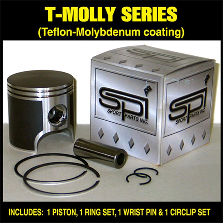 T-Moly Series Piston Kit Standard Bore 72.00mm 1997 Polaris Super Sport Snowmobile