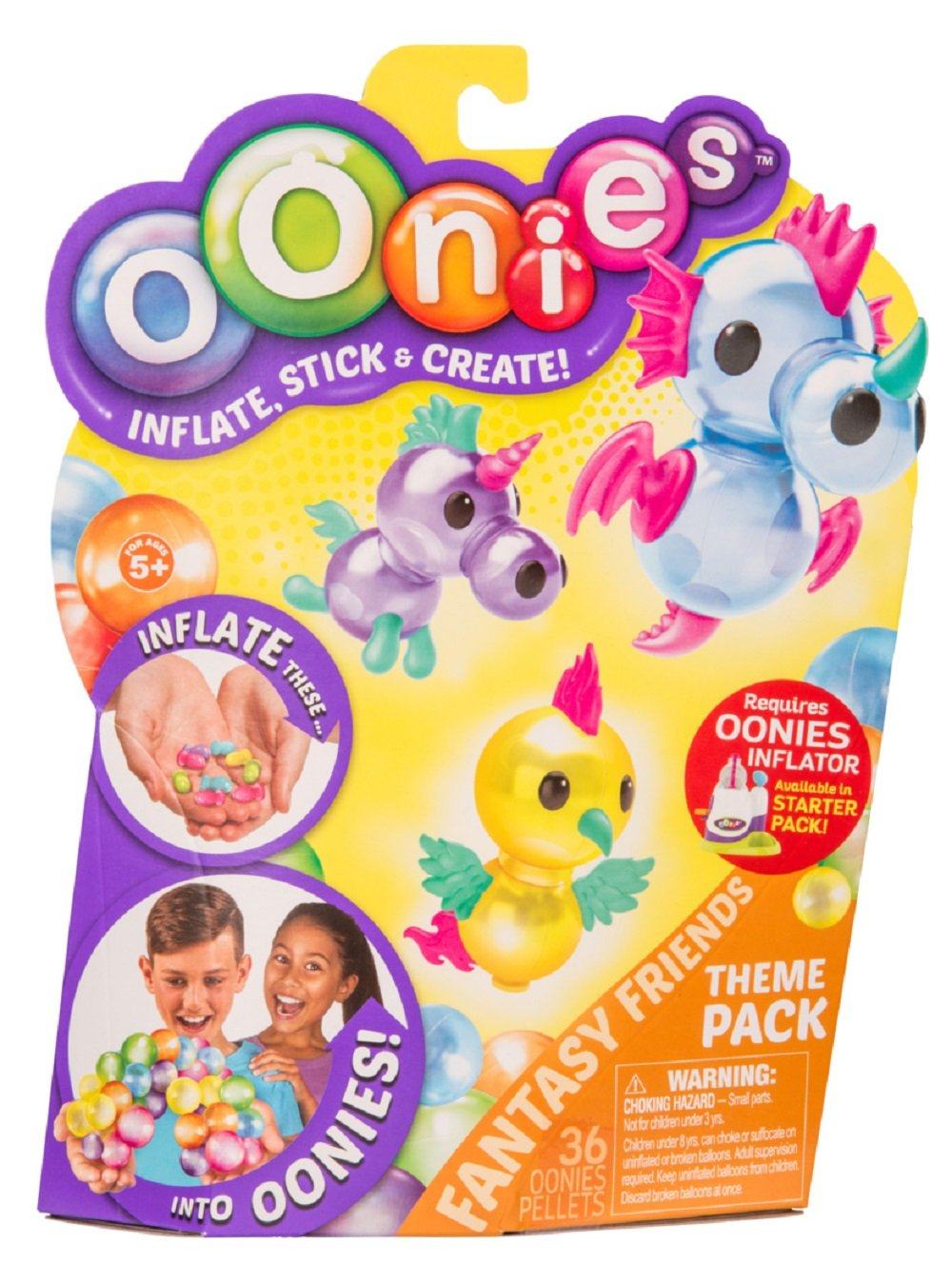 Oonies S2 Theme Refill Pack - Fantasy Friends