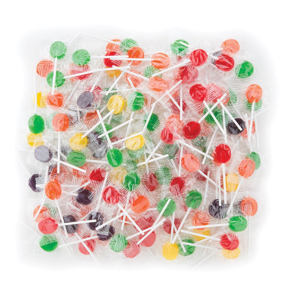 Sugar Free Jolly Pops Case - Bulk Candy - 16 lbs. per Pack by SmileMakers