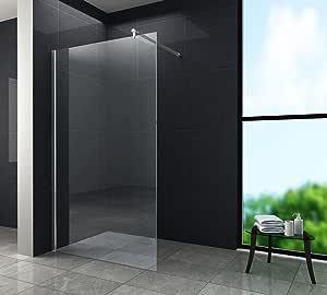 Walk in 10 mm Mampara de ducha cabina de ducha Ducha 150 x 200 cm ...