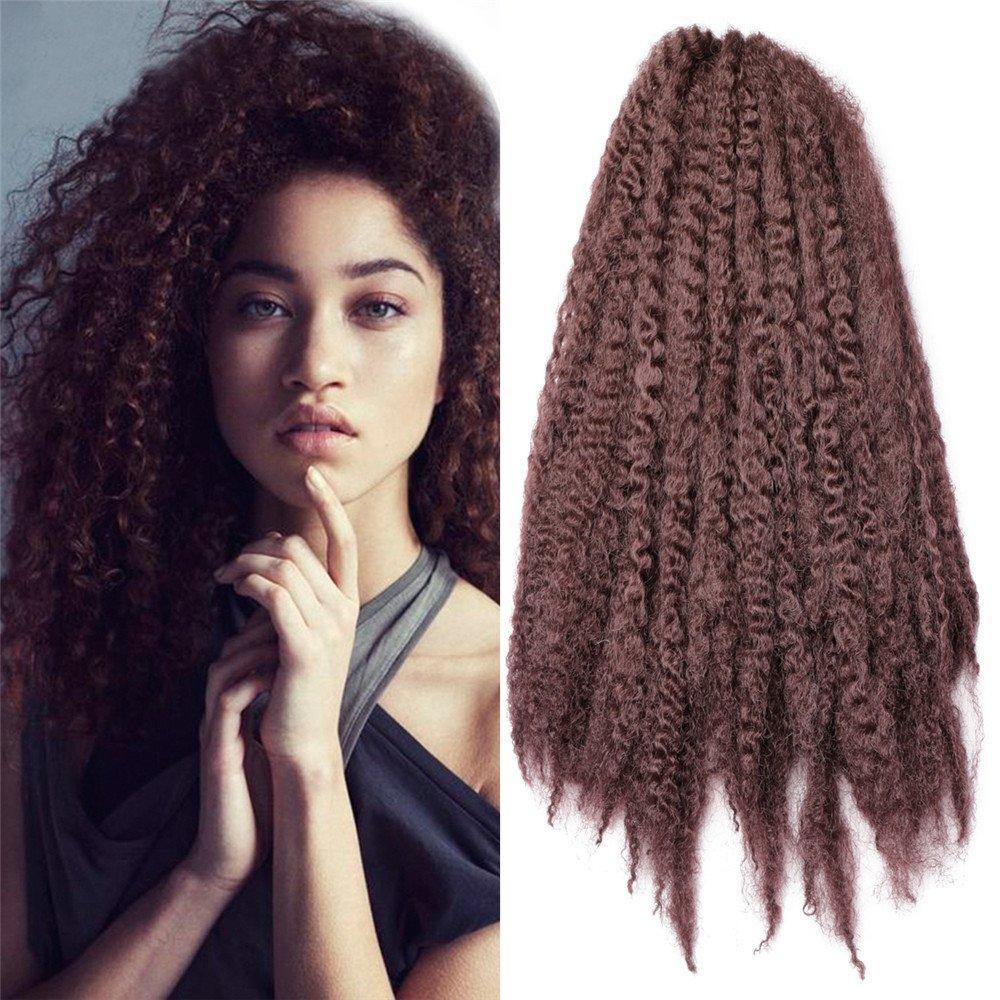 Amazon Carina 3 Bundles Afro Kinkys Curly Hair Extensions Long