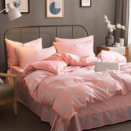 European Style Cotton Coral Velvet Four Sets Quilt Bed Sheets Thick Autumn  Winter Warm Bedding Sets