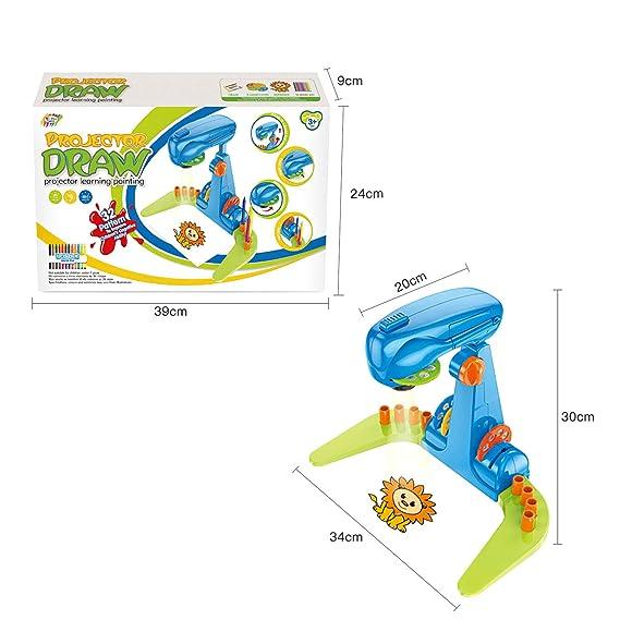 Proyector de dibujo inteligente multifuncional para niños, juguete ...