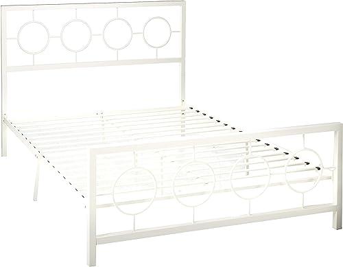 Christopher Knight Home Doris Queen-Size Geometric Platform Bed Frame
