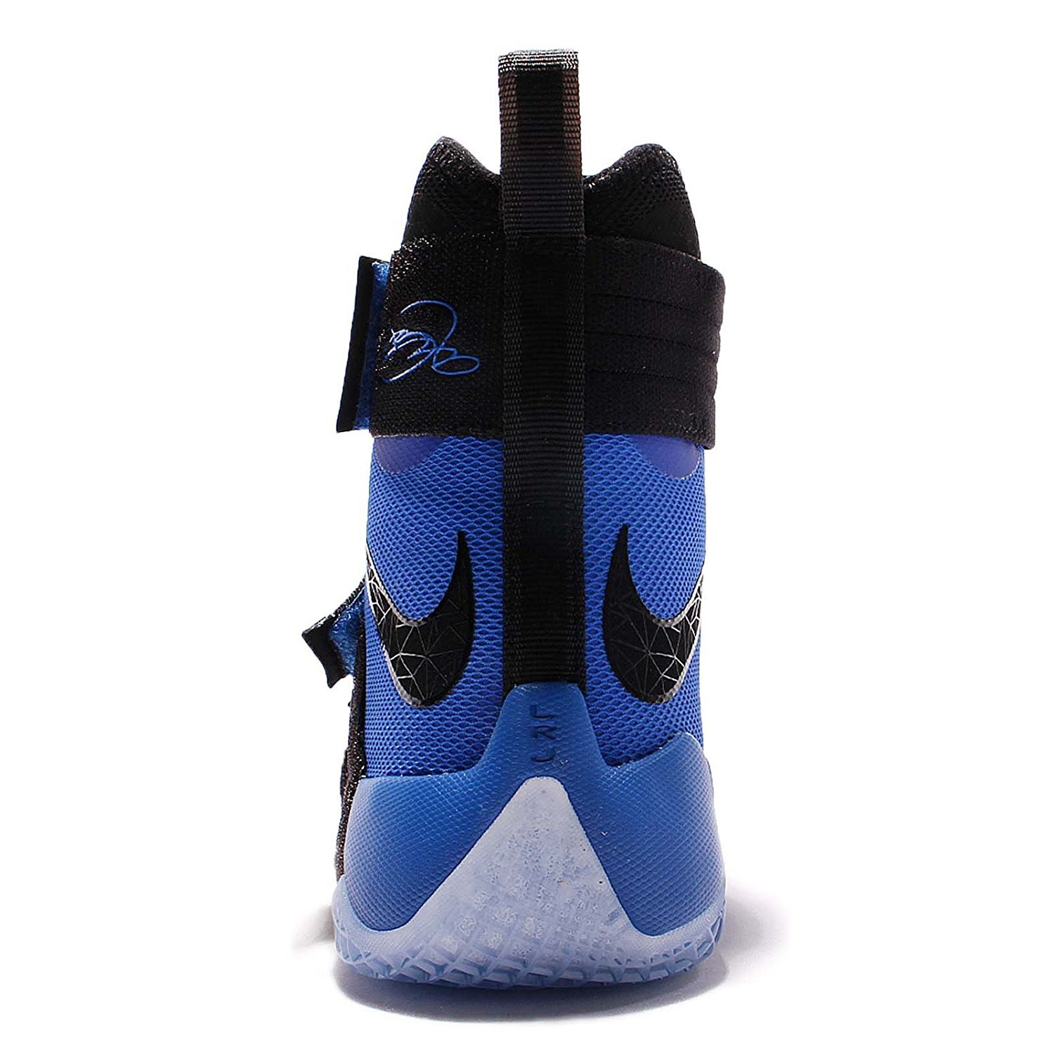 Nike Mens Lebron Soldier 10 Sfg Ep, Nero / Black-game Royal, 12 M Us