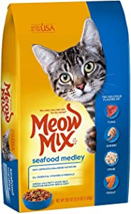 Meow Mix Seafood Medley Dry Cat Food
