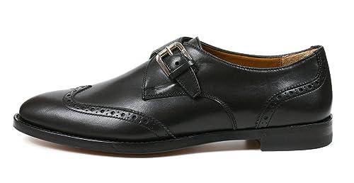 Ralph Lauren Zapatos Oxford Bracey Black Hing Polish Cal Negro Size: 37