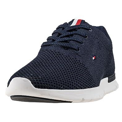 buy online 63cd4 d695c Tommy Hilfiger Tobias Herren Sneaker Blau: Amazon.de: Schuhe ...