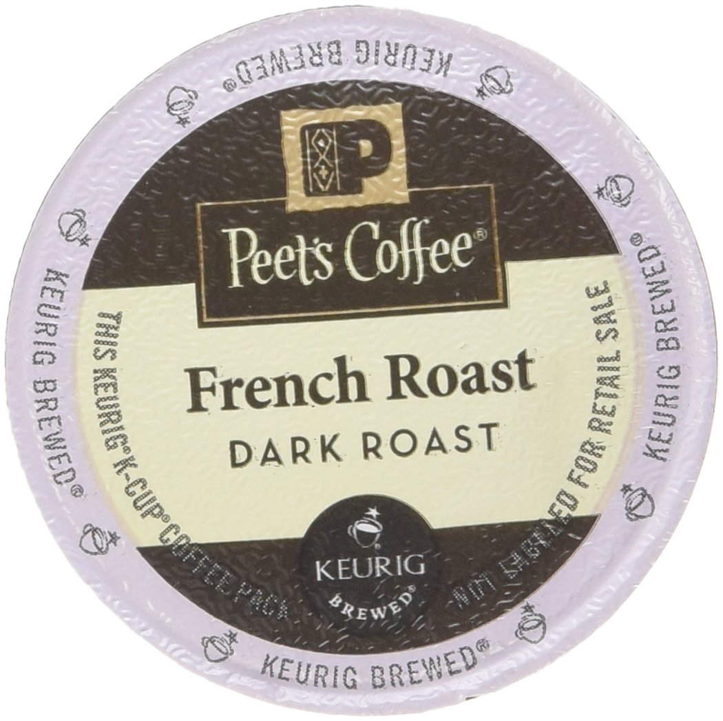 Peet's Coffee French Roast Single Cup Capsule, 96-Count by Peet's Coffee