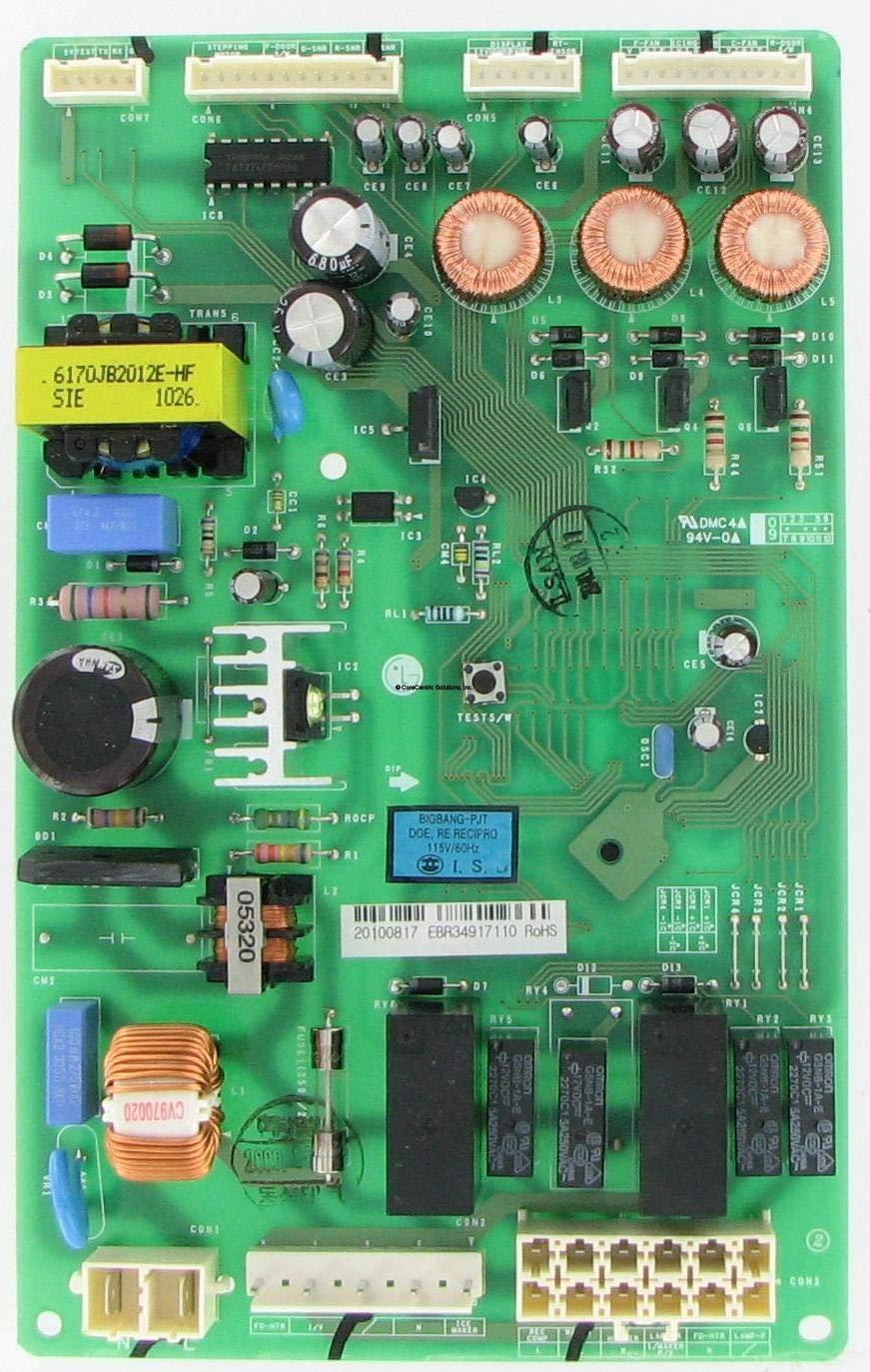 LG EBR34917110 Refrigerator Electronic Control Board (Renewed)