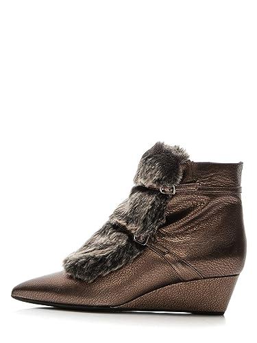 Fourrure Chaussures En Femme Avec Pour Fausse Cuir Geox D'hiver hCtroxQdsB