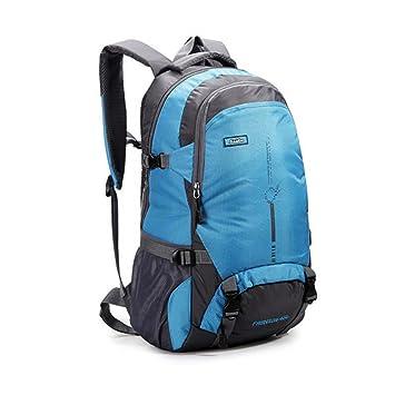 buibao Durable 45L al aire libre mochila de viaje Militar Camping Senderismo Mochila Impermeable, azul: Amazon.es: Deportes y aire libre