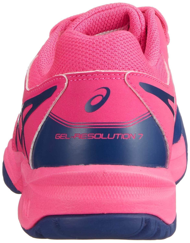 2731d1442 Asics Gel-Resolution 7 GS Junior Zapatilla De Tenis - AW18: Amazon.es:  Deportes y aire libre