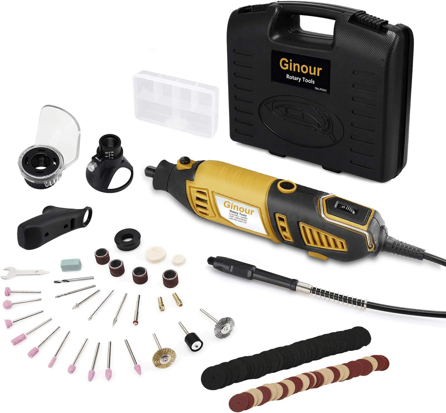 Ginour 1.5AMP 6+Max Variable Speed Rotary Tool