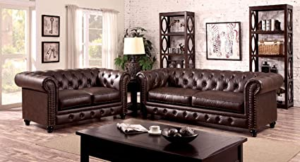 Amazon.com: Esofastore Classic Formal Look Chesterfield ...
