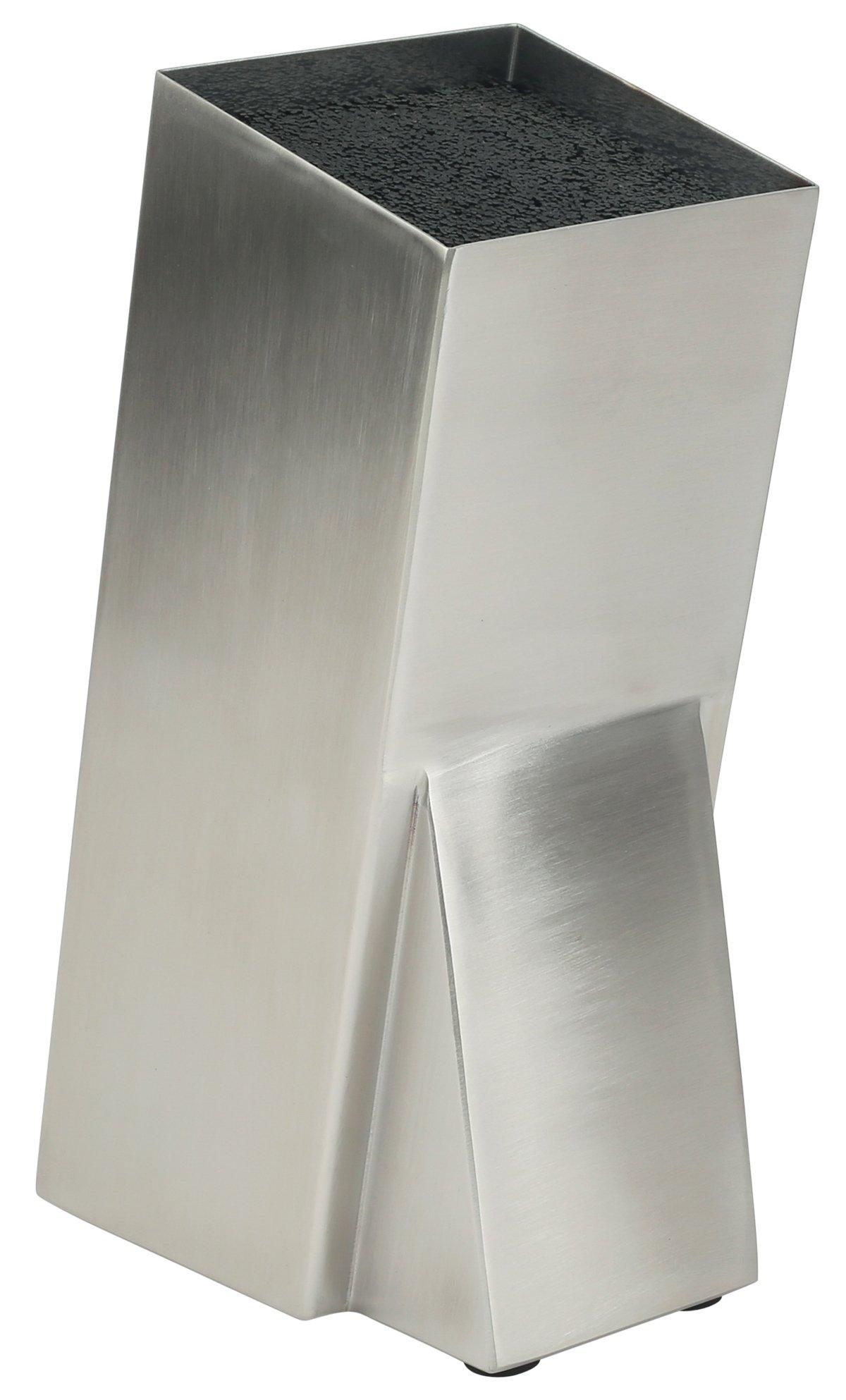 Mantello Universal Stainless Steel Knife Block Knife Holder Storage Organizer by Mantello