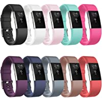 Fitbit Charge 2 Backup Bands, Tryone Fitbit Charge 2 Replacement Accessory Bands for Women/Men Elastomer Small Large