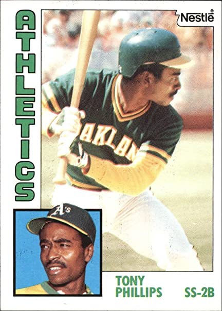 1984 Nestle 792 309 Tony Phillips Baseball Card