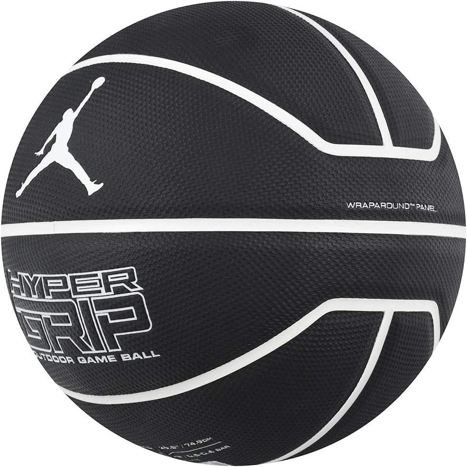 Jordan Hyper Grip - Balón para Hombre, Color Negro, Talla 7 ...