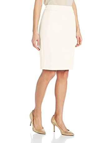 269a2f8996 Calvin Klein Women's Straight Fit Suit Skirt