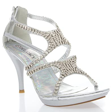 incredible prices new arrivals store Amazon.com | V-Luxury Womens 32-ESSENTIAL24 Open Toe ...