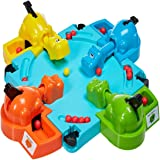 DORIC Hungry Four Hippos Creative Desktop Toys Interactive Fun Board Game Baby Kids Child Toys Gifts