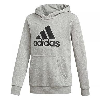 adidas Jungen Logo Hood Kapuzen Sweatshirt