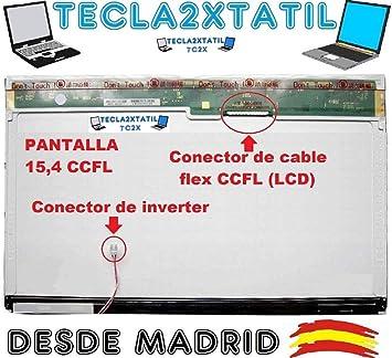 Pantalla Compatible DE Y para PORTATIL HP Compaq HP 550 15,4 LCD WXGA 1280X800 CCFL 1-Tubo 30 Pin Ver Foto: Amazon.es: Electrónica