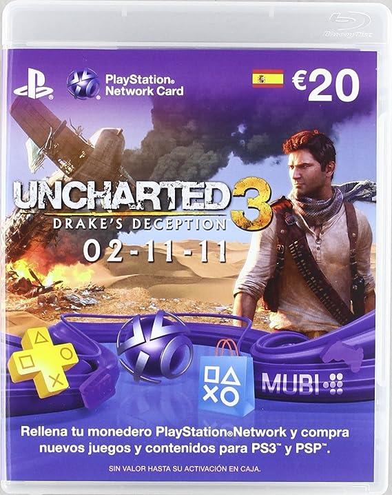 Playstation - Tarjeta Prepago De 20 Euros: Amazon.es: Videojuegos