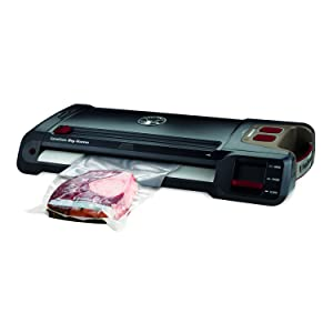 FoodSaver GameSaver Big Game Plus Vacuum Sealer, Black