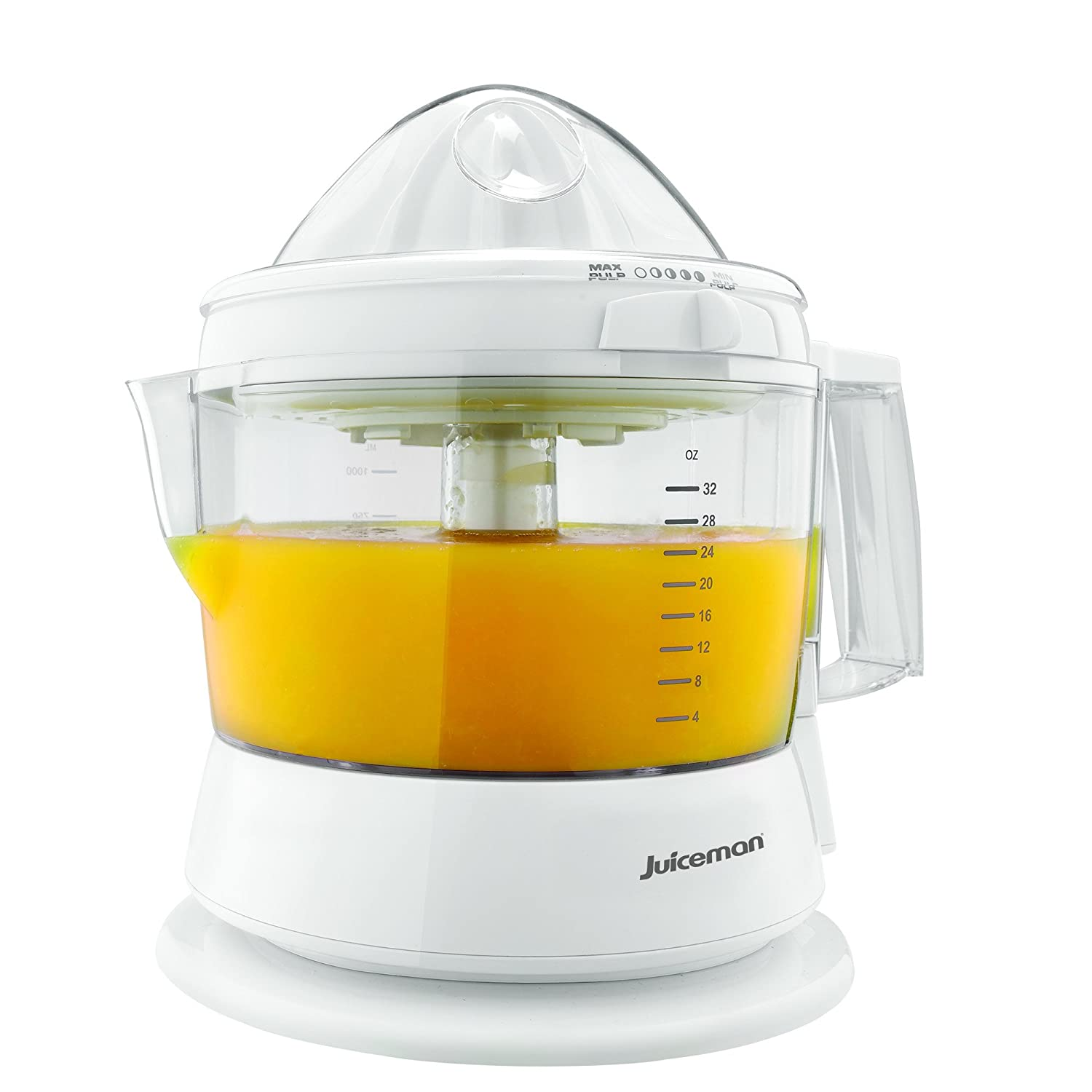 Juiceman Citrus Juicer, White, CJ630-2J