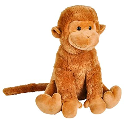 Wildlife Tree Huge 14 Inch Stuffed Animal Monkey Zoo Animal Plush Domain Collection: Toys & Games