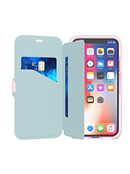 check out ab381 b8774 Tech21 Evo Wallet for iPhone X - Pink
