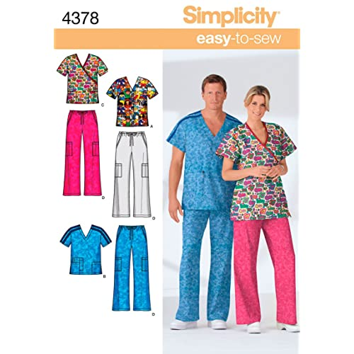 Sewing Patterns For Scrubs Amazon Impressive Scrub Top Patterns