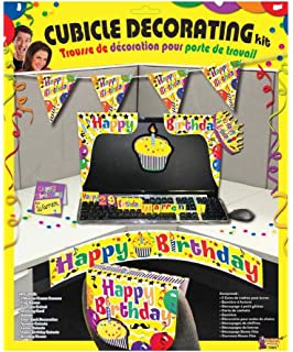 Forum Novelties Happy Birthday Cubicle Decor Multi Color