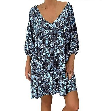 Posional_Vestido Playa Mujer Tallas Grandes Camisolas y ...