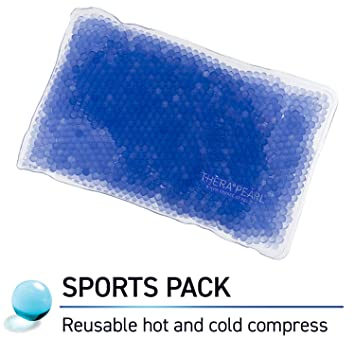 Therapearl - Bolsa de gel (reusable, terapia caliente / frío, ideal para deportistas)