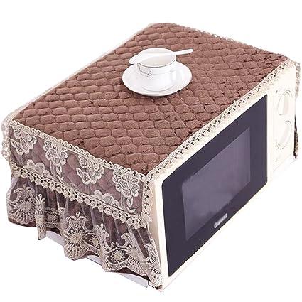Exquisita cubierta a prueba de polvo del horno microondas ...