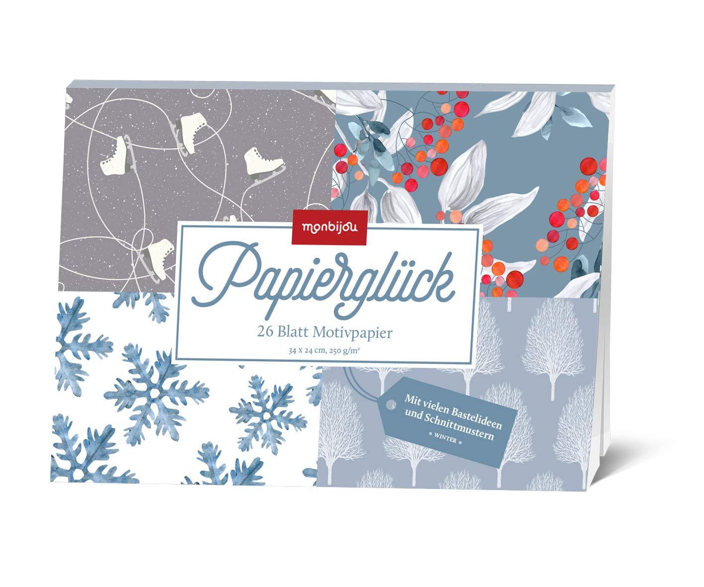 Papierglück - Design Winter: Motivpapier (monbijou)