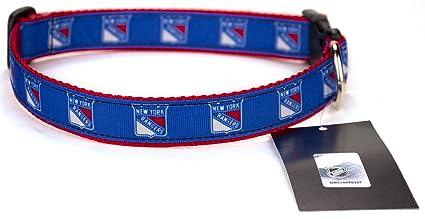 Amazon.com   All Star Dogs New York Rangers Ribbon Dog Collar ... f29be4f09