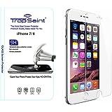 """Trop Saint® Protecteur d'écran en Verre Trempé pour iPhone 8 et iPhone 7 (4,7)"""" 2,5D, 0,33mm UltraClair Haute Qualité Ultra Résistant INRAYABLE Tempered Glass"""