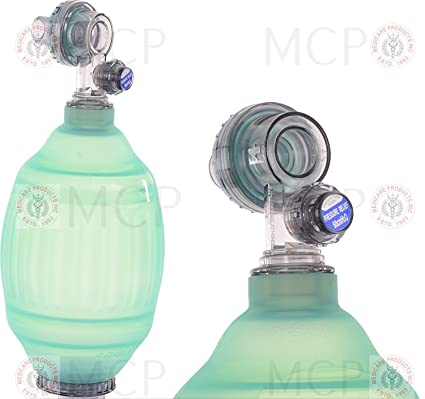 MCP Medicare Manual Resuscitator Infant PVC Ambu Bag Oxygen Tube