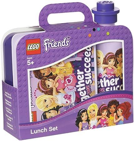 Room Copenhagen 4059 Set Lego Friends, Caja de Almuerzo y Botella, Morado, Lavender: Amazon.es: Hogar