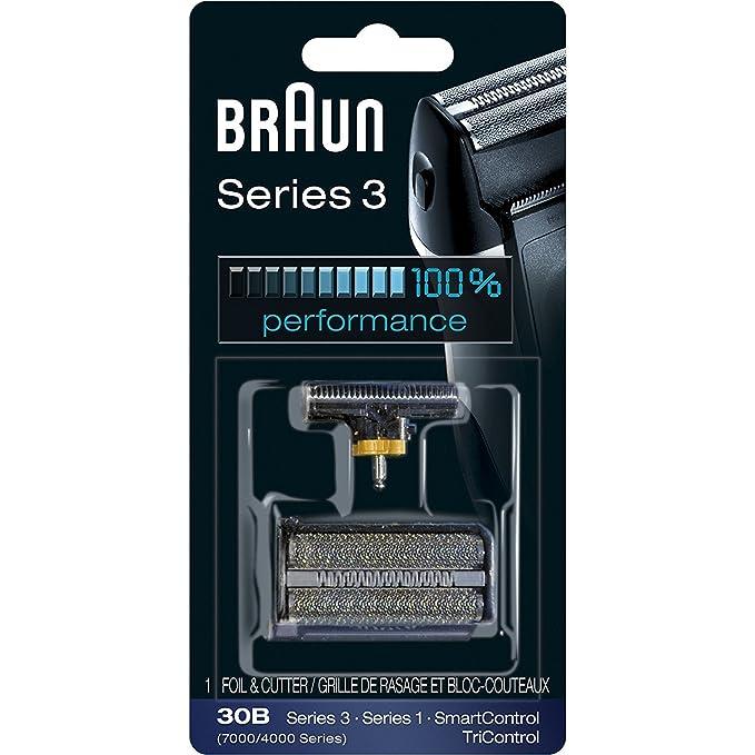 Braun 30B - Lámina de recambio para afeitadoras Aciens Series 3 ...