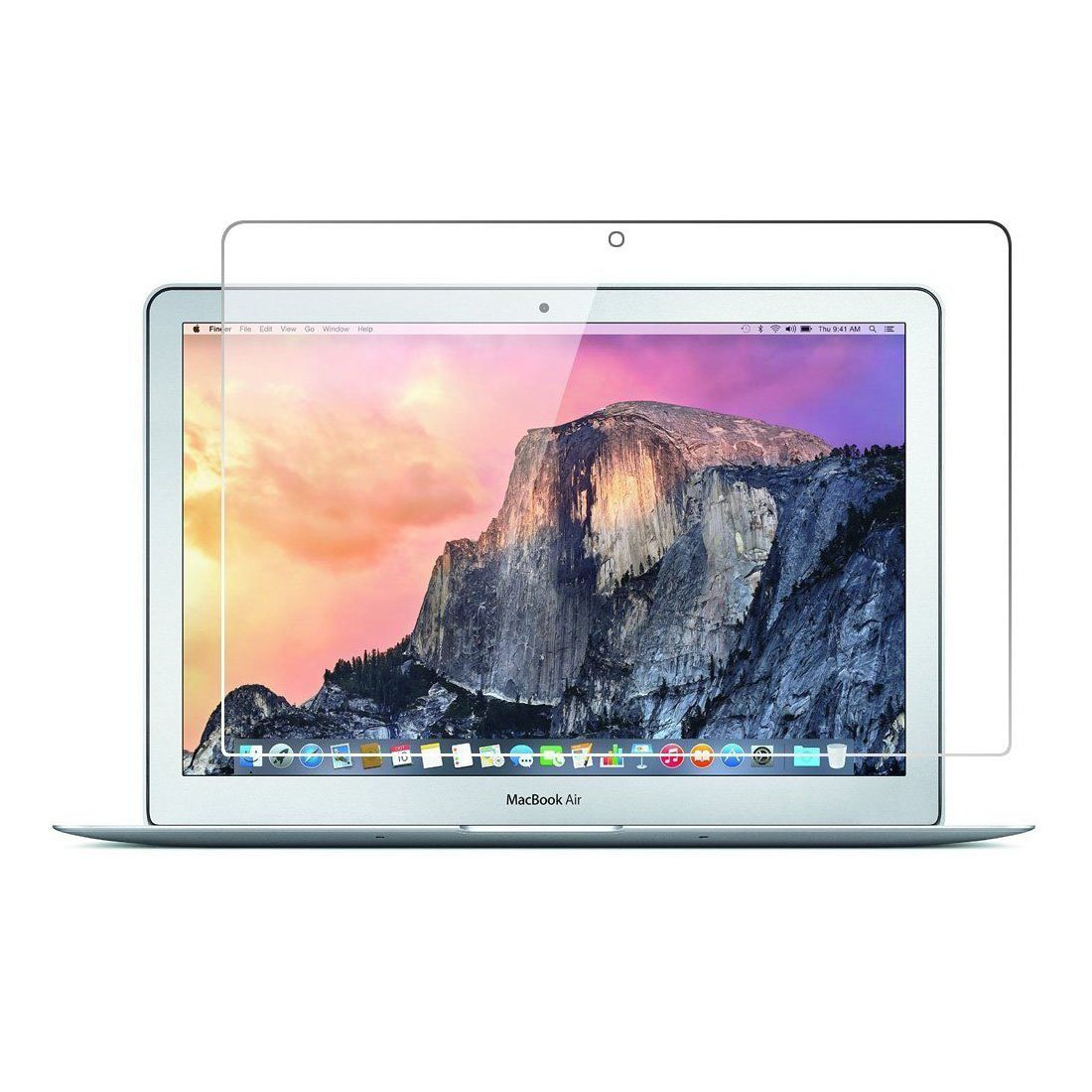 Macbook Air 11 inch Laptop Screen Protector,Full Coverage Tempered Glass Screen Protector for apple Macbook Air 11.6 inch with Anti-fingerprint Bubble-Free Crystal Clear