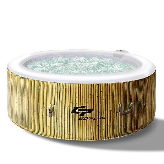 Blitzzauber24 - Piscina hidromasaje SPA bañera Hinchable con ...