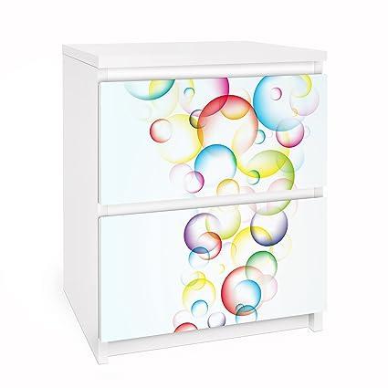 Apalis Pellicola Adesiva Per Mobili Ikea Malm Dresser 2xdrawers